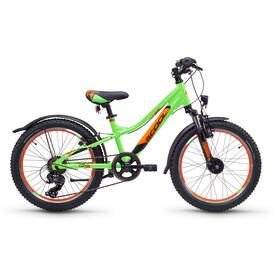 s'cool troX urban 20 7-S - Vélo enfant - alloy vert